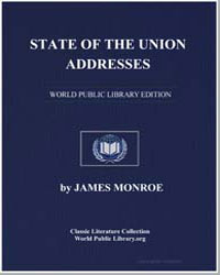 State of the Union Addresses by Monroe, James