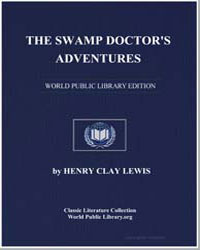 The Swamp Doctor's Adventures by Lewis, Henry Clay