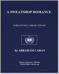 A Sweatshop Romance by Cahan, Abraham