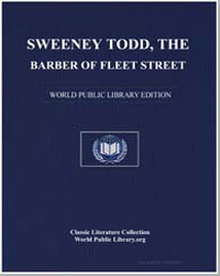 Sweeney Todd, The Barber of Fleet Street by Anonymous