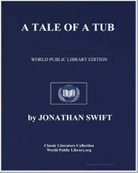A Tale of a Tub by Swift, Jonathan