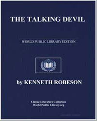 A Doc Savage Adventure : The Talking Dev... by Robeson, Kenneth