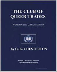 The Club of Queer Trades by Chesterton, Gilbert K.
