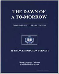 The Dawn of a Tomorrow by Burnett, Frances Hodgson