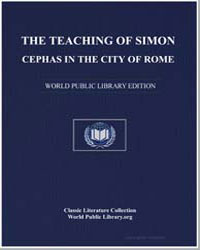 The Teaching of Simon Cephas in the City... by Cephas, Simon