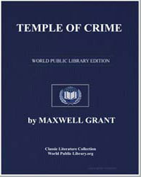 Temple of Crime by Grant, Maxwell