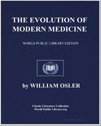 The Evolution of Modern Medicine by Osler, William, Sir