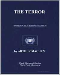 The Terror by Machen, Arthur