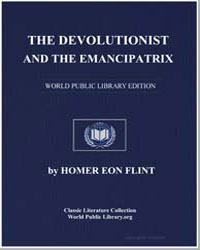 The Devolutionist and the Emancipatrix by Flint, Homer Eon