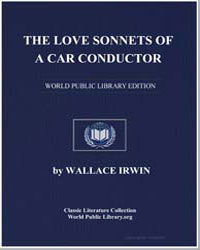 The Love Sonnets of a Car Conductor by Irwin, Wallace