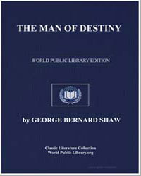 The Man of Destiny by Shaw, George Bernard