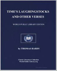 Time's Laughingstocks and Other Verses by Hardy, Thomas