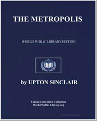 The Metropolis by Sinclair, Upton