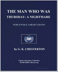 The Man Who Was Thursday : A Nightmare by Chesterton, Gilbert K.