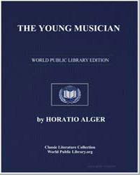 The Young Musician by Alger, Horatio, Jr.