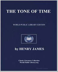 The Tone of Time by James, Henry