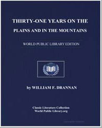 Thirty-One Years on the Plains and in th... by Drannan, William F.