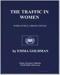 The Traffic in Women by Goldman, Emma