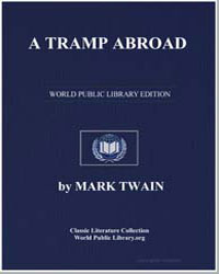 A Tramp Abroad by Twain, Mark