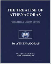 The Treatise of Athenagoras by Athenagoras