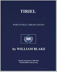 Tiriel by Blake, William