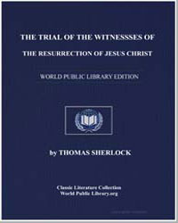 The Trial of the Witnesses of the Resurr... by Sherlock, Thomas