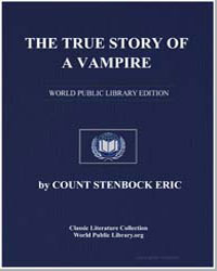 The True Story of a Vampire by Eric, Stenbock