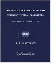 The Man-Eaters of Tsavo : And Other East... by Patterson, J. H.