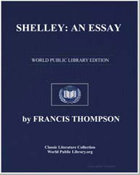 Shelley : An Essay by Thompson, Francis