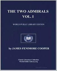 The Two Admirals Volume 1 by Cooper, James Fenimore