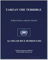 Tarzan the Terrible by Burroughs, Edgar Rice