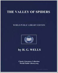 The Valley of Spiders by Wells, Herbert George