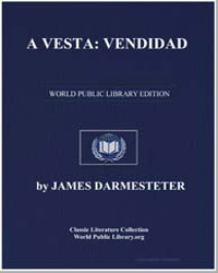 Avesta : Vendidad by Darmesteter, James