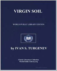 Virgin Soil by Turgenev, Ivan