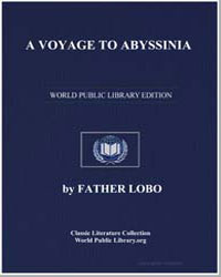 A Voyage to Abyssinia by Lobo, Father