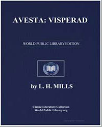 Avesta : Visperad by Mills, L. H.