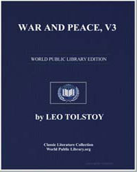 War and Peace, Volume 3 by Tolstoy, Leo