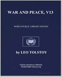 War and Peace, Volume 13 by Tolstoy, Leo