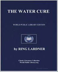 The Water Cure by Lardner, Ring W.