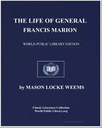 The Life of General Francis Marion by Weems, Mason Locke