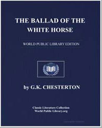 The Ballad of the White Horse by Chesterton, Gilbert K.