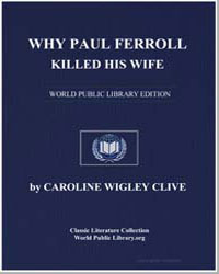 Why Paul Ferroll Killed His Wife by Clive, Caroline Wigley