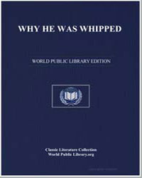 Why He Was Whipped by