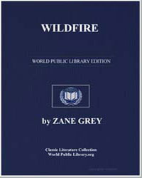 Wildfire by Grey, Zane