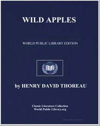 Wild Apples by Thoreau, Henry David