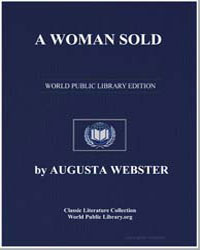 A Woman Sold by Webster, Augusta