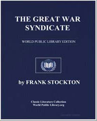 The Great War Syndicate by Stockton, Frank R.