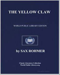 The Yellow Claw by Rohmer, Sax