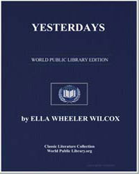 Yesterdays by Wilcox, Ella Wheeler