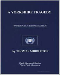 A Yorkshire Tragedy by Middleton, Thomas
